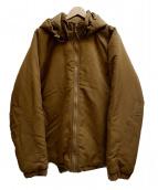 ECWCS(エクワックス)の古着「LEVEL7 EXTREME COLD PARK ジャケット」|ベージュ