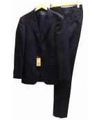 COMME CA MEN(コムサメン)の古着「セットアップ2Bスーツ」 ネイビー