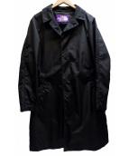 THE NORTHFACE PURPLELABEL(ザノースフェイス パープルレーベル)の古着「ステンカラーコート」|ブラック