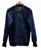 DIESEL(ディーゼル)の古着「PRESLEY-ANGLEデニムジャケット」|インディゴ