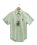A BATHING APE(アベイシングエイプ)の古着「シャツ」|黄緑