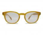 OLIVER PEOPLES(オリバーピープルズ)の古着「眼鏡」|ベージュ