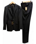 COMME CA MEN(コムサメン)の古着「セットアップスーツ」 ブラック
