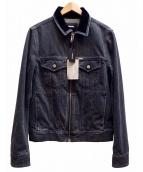 DIESEL(ディーゼル)の古着「D-Ashton-Zip デニムジャケット」|グレー
