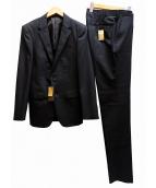 COMME CA MEN(コムサメン)の古着「2Bスーツ」|ブラック