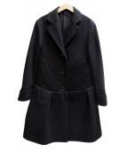 Acne(アクネ)の古着「コート」|ブラック