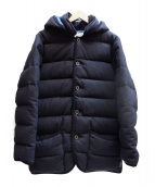 Traditional Weatherwear(トラディショナル ウェザーウェア)の古着「WAVERLY DOWN ダウンジャケット」|ネイビー