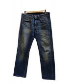 LEVIS VINTAGE CLOTHING(リーバイス ヴィンテージ クロージング)の古着「47501XXデニムパンツ」 インディゴ