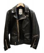 Lewis Leathers(ルイスレザーズ)の古着「CYCLONEライダースジャケット」|ブラック