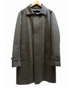 MACKINTOSH PHILOSOPHY(マッキントッシュフィロソフィー)の古着「FOX BROTHERS ステンカラーコート」 グレー