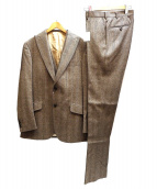 Paul Stuart(ポール・スチュアート)の古着「3ピーススーツ」|ブラウン