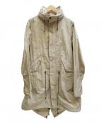 MINOTAUR(ミノトール)の古着「wrinkles M-51 coat」|ベージュ