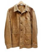 KUON(クオン)の古着「奄美大島泥染 裂き織りカバーオール」|ブラウン