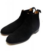 Lloyd Footwear(ロイドフットウェア)の古着「サイドゴアブーツ」|ブラック