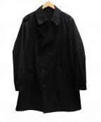 COMME CA MEN(コムサメン)の古着「コート」 ブラック