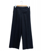icB(アイシービ)の古着「ワイドパンツ」|チャコールグレー