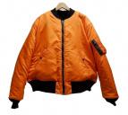 Buzz Ricksons×UNUSED(バズリクソンズ×アンユーズド)の古着「reversible MA-1ジャケット」|オレンジ