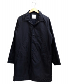 WITHAM(ウィザム)の古着「LONG COACH JACKET」|ブラック