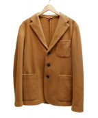 BARENA(バレナ)の古着「ウール3Bジャケット」|ブラウン