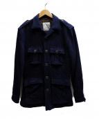 G.V.Conte(ジーブイコンテ)の古着「フィールドジャケット」|ネイビー