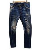 DSQUARED2(ディースクエアード)の古着「Classic Kenny Jeanデニムパンツ」 インディゴ
