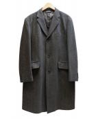 BROOKS BROTHERS(ブルックスブラザーズ)の古着「チェスターコート」|グレー