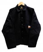 N.HOOLYWOOD×TIMBERLAND PRO(エヌハリウッド×ティンバーランド プロ)の古着「カバーオール ジャケット」|ブラック