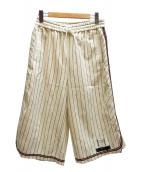 FACETASM(ファセッタズム)の古着「basketball shorts パンツ」|ホワイト