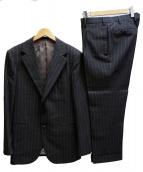 SOVEREIGN(ソブリン)の古着「セットアップ3Bタックスーツ」|チャコールグレー