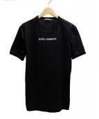 DOLCE & GABBANA(ドルチェ&ガッバーナ)の古着「Tシャツ」|ブラック