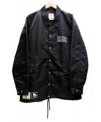 Denham(デンハム)の古着「森伊蔵コーチジャケット」|ブラック