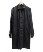 WACKO MARIA(ワコマリア)の古着「ステンカラーコート」 ブラック