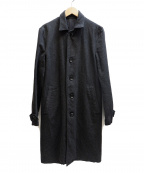 WACKO MARIA()の古着「ステンカラーコート」 ブラック