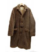GOLD 東洋(ゴールド トウヨウ)の古着「ALPACA WOOL CHESTER COAT コート」 ブラウン