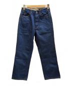 WESTOVERALLS(ウエストオーバーオールズ)の古着「817Fデニムパンツ」|インディゴ