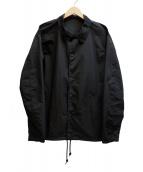 KUON(クオン)の古着「COACH JACKET」|ブラック