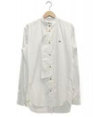 Vivienne Westwood man(ヴィヴィアンウエストウッドマン)の古着「ヴェテランシャツ」|ホワイト
