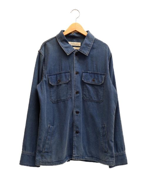 REMI RELIEF(レミレリーフ)REMI RELIEF (レミレリーフ) カバーオール インディゴ サイズ:表記サイズ:Lの古着・服飾アイテム