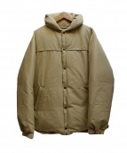COOTIE PRODUCTIONS(クーティー プロダクツ)の古着「60/40 Cloth Down Jacket 」|ベージュ