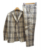 BOGLIOLI(ボリオリ)の古着「DOVERセットアップスーツ」|グレー