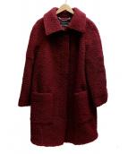 MAX&Co.(マックスアンドコー)の古着「ウールコート」|レッド