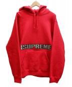 Supreme(シュプリーム)の古着「blockbuster hooded sweatshirt」|レッド