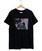 GOD SELECTION XXX(ゴットセレクショントリプルエックス)の古着「Tシャツ」|ブラック