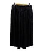 LIMI feu(リミフゥ)の古着「袴パンツ」|ブラック