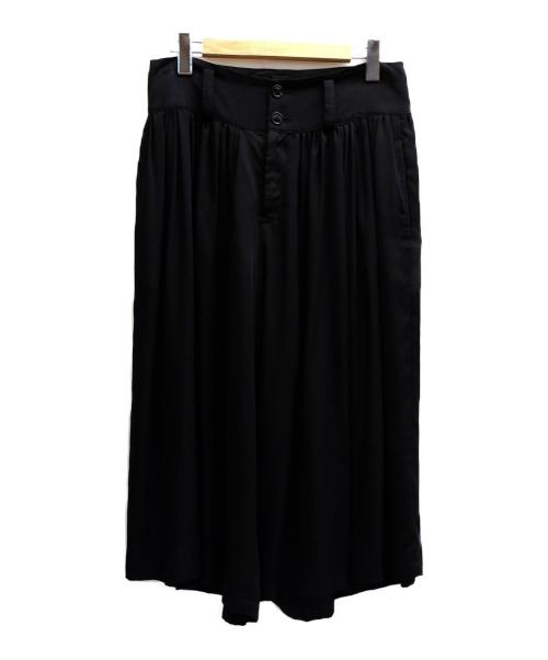 LIMI feu(リミフゥ)LIMI feu (リミフゥ) 袴パンツ ブラック サイズ:表記サイズ:Sの古着・服飾アイテム