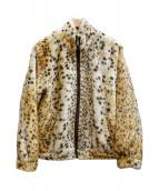 LEONARD(レオナール)の古着「フェイクファージャケット」|ブラウン