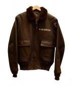 TOYS McCOY(トイズマッコイ)の古着「G-1フライトジャケット」|ブラウン