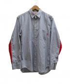 Supreme×COMME des GARCONS SHIRT(シュプリーム × コムデギャルソンシャツ)の古着「GUSSET SHIRT」 スカイブルー