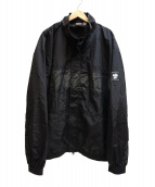 UNDEFEATED(アンディフィーテッド)の古着「PANEL-PRINTED TRACK JACKET」|ブラック