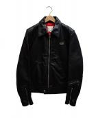 Lewis Leathers(ルイスレザーズ)の古着「シングルライダースジャケット」|ブラック